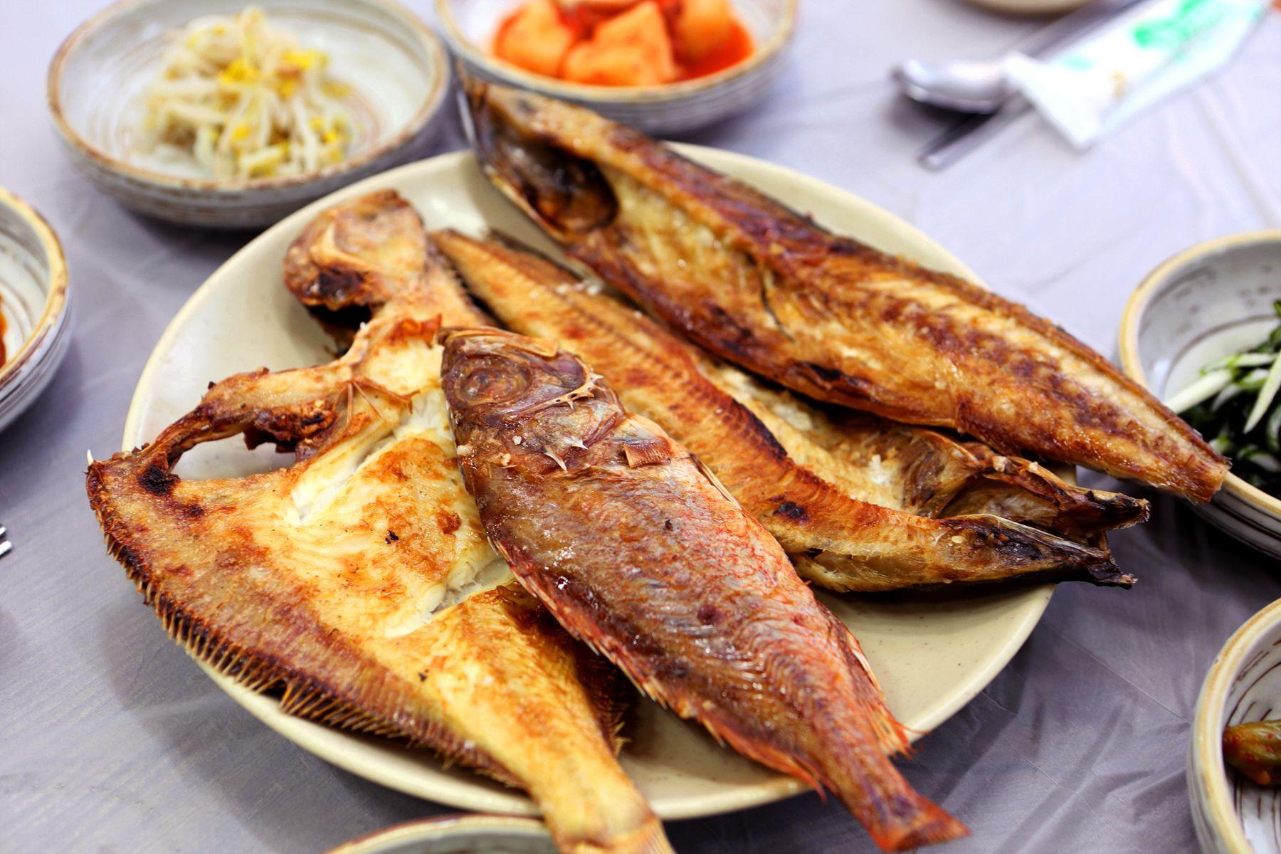 Сэнсон гуи – рыба, приготовленная на огне